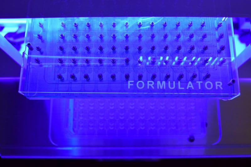 formulator screen builder with MRC2 plate