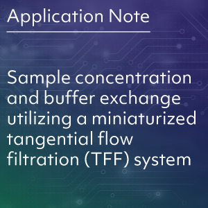 Sample-concentration-and-buffer-exchange-utilizing-a-miniaturized-tangential-flow-filtration-TFF-system-button