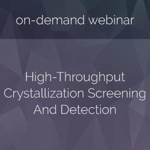 High-Throughput-Crystallization-Screening-And-Detection
