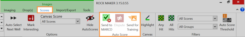 The Auto Score Group in ROCK MAKER 3.15