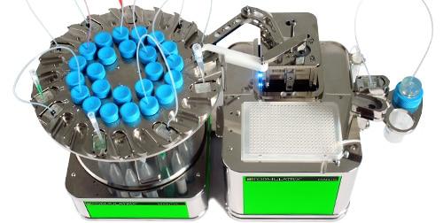 MANTIS Liquid Handler with LC3