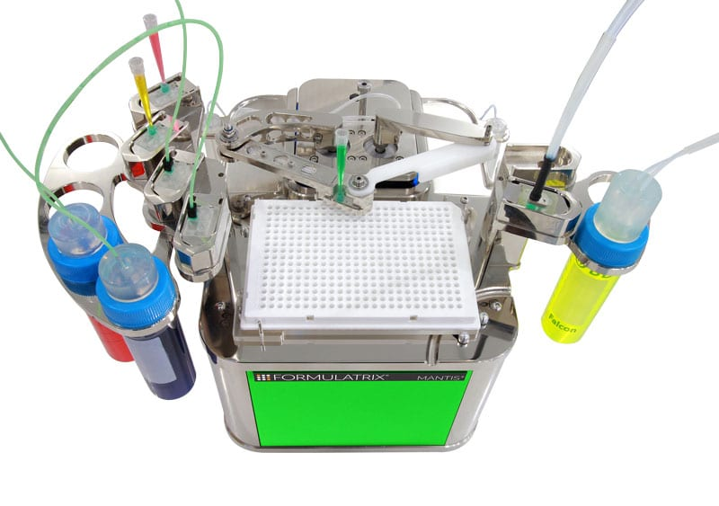 Figure 1: MANTIS liquid handler by Formulatrix